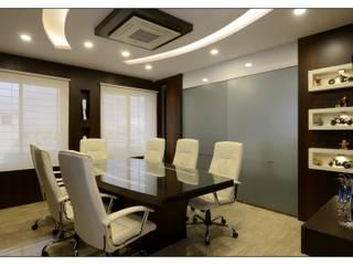 conferance area:  Office buildings by sayyam interiors.