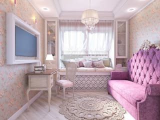 Classic style bedroom by MARIA MELNICOVA студия SIERRA Classic