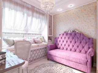 Комната девочки в стиле ПРОВАС: Спальни в . Автор – MARIA MELNICOVA студия SIERRA,