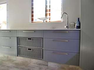 Capital Kitchens cc Modern kitchen MDF Grey