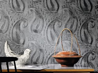 Élitis Walls & flooringWallpaper Black