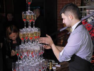Клубный ресторан-бар SOHO в г. Саратов проект Art People Group Бары и клубы в стиле лофт от Art People Group Лофт