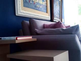 Projeto de arquitetura e design de interiores para casa no condomínio Santa Helena Barra da Tijuca.:   por Lucio Nocito Arquitetura e Design de Interiores