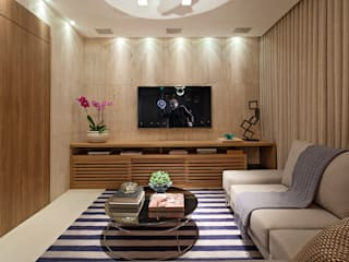 Modern Media Room by LEDS Arquitetura Modern