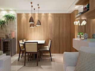 LEDS Arquitetura Modern dining room