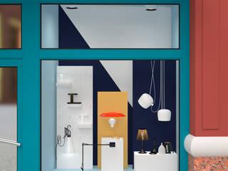 Flos Windows: Lojas e espaços comerciais  por Twelve Four Haus