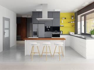 Toruń | 130: styl , w kategorii Kuchnia zaprojektowany przez Mohav Design