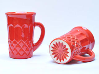 Bizcocho HouseholdHomewares Pottery Red