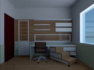 By CA BedroomWardrobes & closets MDF White