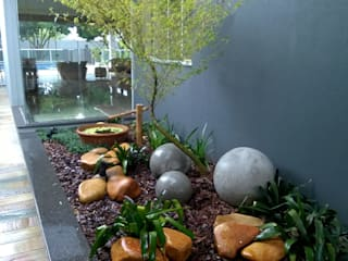 Borges Arquitetura & Paisagismo Jardines de estilo moderno