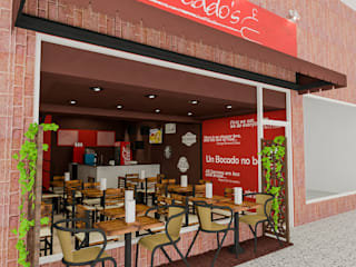 Sixty9 3D Design ร้านอาหาร