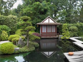 por Kokeniwa Japanische Gartengestaltung Asiático