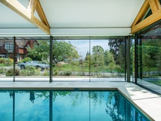 The Pool House:  Pool by Re-Format LLP