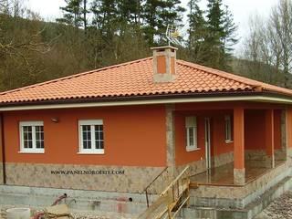 Casas Casas de estilo rural de PANELNOROESTE Rural
