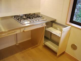 Cocinas de estilo minimalista de 木の家設計室 アトリエ椿 Minimalista