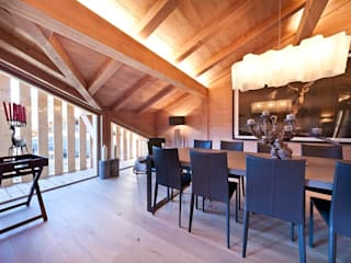 Ski Chalet Dining room:   by David Village Lighting