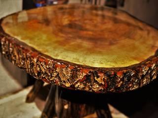 Coşkun Ahşap Dekorasyon – walnut table(ceviz masa/sehpa):  tarz
