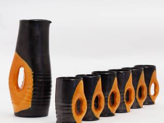 Service en céramique de Mado Jolain:  de style  par Perlapatrame