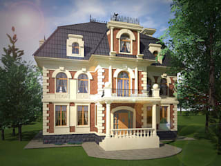 Colonial style house by Геометрия Вкуса Colonial