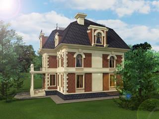 Дом в Викторианской стиле Дома в колониальном стиле от Геометрия Вкуса Колониальный