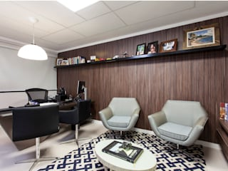 Study/office by Maria Julia Faria Arquitetura e Interior Design, Modern