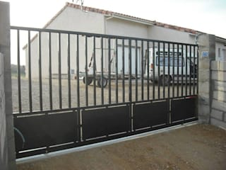 portails metalliques metallerie swiatek Maisons industrielles