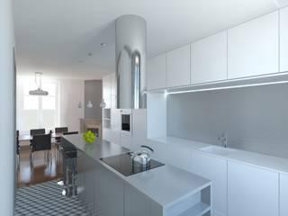 Vue de la cuisine:  de style  par 3B Architecture