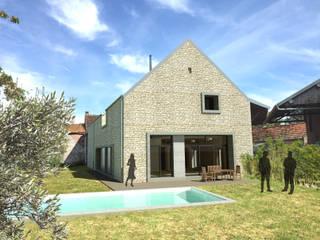 Vue de l'intervention:  de style  par 3B Architecture
