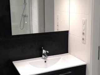 3B Architecture Modern bathroom Ceramic Black