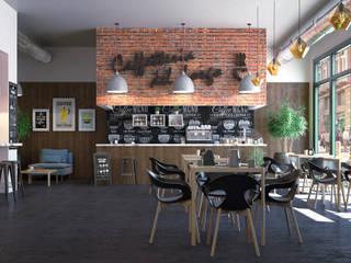 Bares y Clubs de estilo  por Santoro Design Render