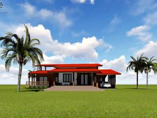 Casa de Fazenda por Aidê Arquitetura Rústico
