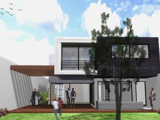Arquimia Arquitectos Casas estilo moderno: ideas, arquitectura e imágenes Piedra Negro