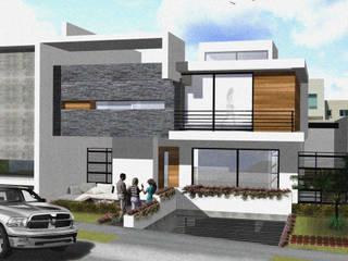 Arquimia Arquitectos Modern houses Concrete White