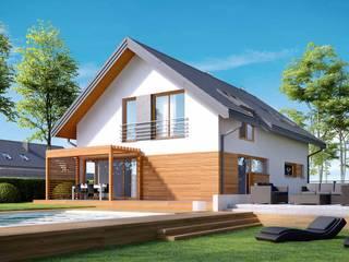 Rumah Modern Oleh HomeKONCEPT | Projekty Domów Nowoczesnych Modern