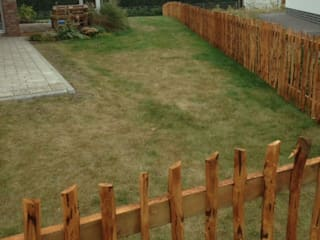 Gregor-Design Garden Fencing & walls Solid Wood Brown