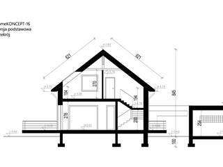 by HomeKONCEPT | Projekty Domów Nowoczesnych Сучасний