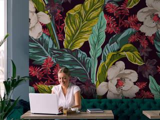 Commercial Pixers Pareti & Pavimenti in stile tropicale Variopinto
