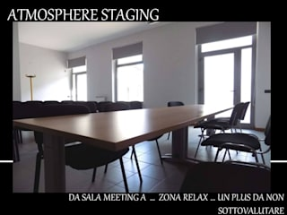 ATMOSPHERE STAGING Ruang Media Modern