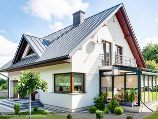 Modern conservatory by Biuro Projektów MTM Styl - domywstylu.pl Modern