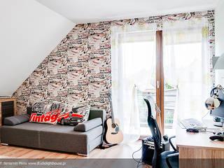 Chambre d'enfant de style  par Biuro Projektów MTM Styl - domywstylu.pl,