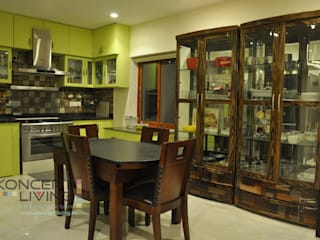 Sudhakar -Madhapur Classic style dining room by Koncept Living Classic