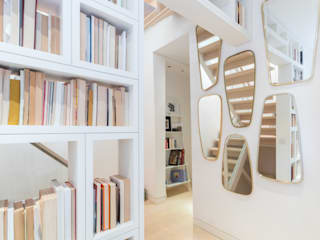 Kensington, SW5 - Renovation Modern corridor, hallway & stairs by TOTUS Modern