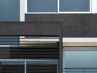 Fachada Mariano Acha: Casas de estilo  por F2M Arquitectos