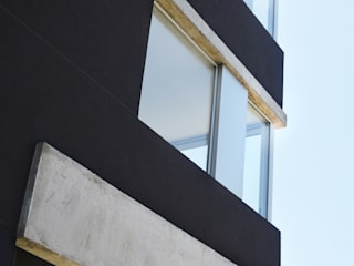 Esquina: Casas de estilo  por F2M Arquitectos