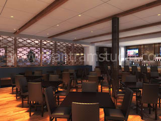 Bars & clubs by Yantram Design Studio di architettura
