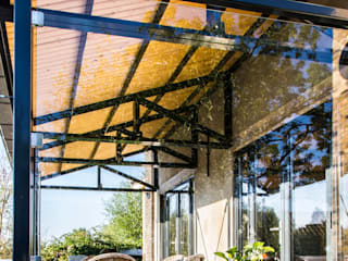 Terrasse de style  par Woon Architecten