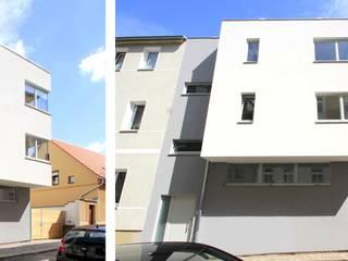 Mehrfamilienhaus B - Neubau eines Wohnhauses mit Atelier Architekturbüro Schumann Moderne Häuser