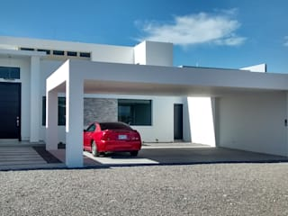Guiza Construcciones Modern home Bricks White