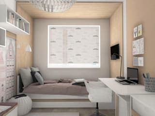 Dormitorios infantiles de estilo moderno de Designbox Marta Bednarska-Małek Moderno