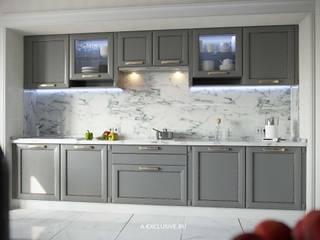 Дизайн проект квартиры в ЖК Сказка: Кухни в . Автор – А-эксклюзив